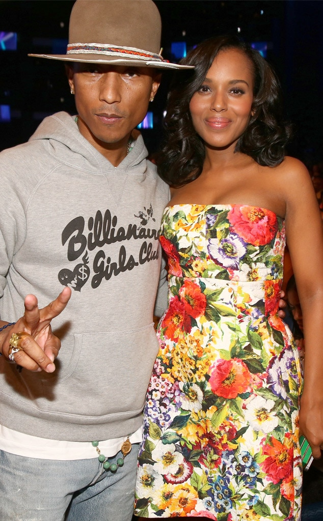 Pharrell Williams, Kerry Washington