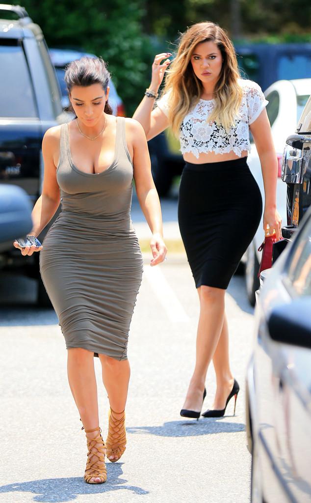 Khloe Kardashian, Kim Kardashian