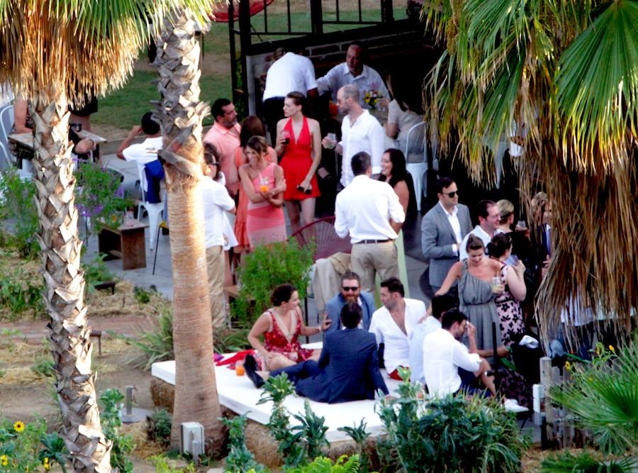 Adam Levine, Behati Prinsloo, Wedding Guests