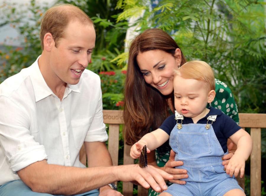 Prince George, Kate Middleton, Prince William
