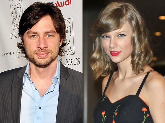 Zach Braff, Taylor Swift