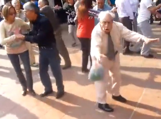 Senior Citizens, Dancing