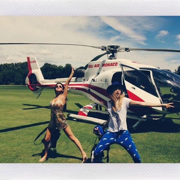 Cara Delevingne, Selena Gomez, Instagram