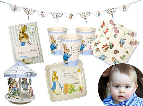 Prince George Birthday, Peter Rabbit