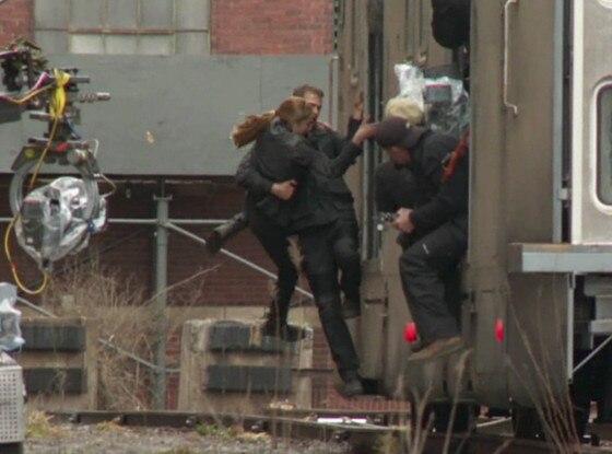Shailene Woodley, Divergent, Train