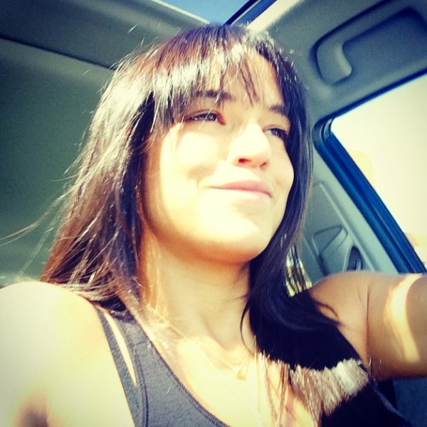 Michelle Rodriguez Debuts New Bangs With Cryptic Message