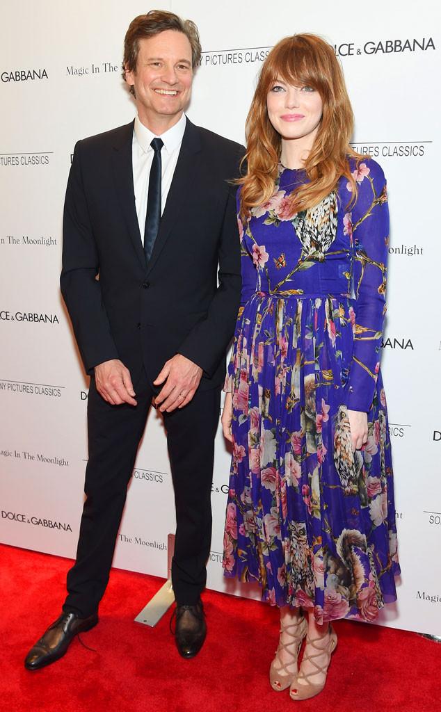 Colin Firth, Emma Stone
