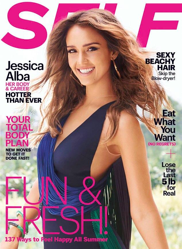 Jessica Alba, SELF