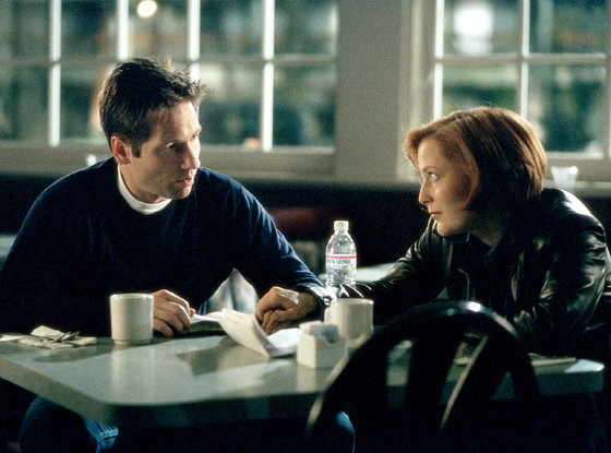 Gillian Anderson, Dana Scully, David Duchovny, Fox Mulder, The X-Files