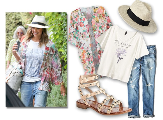 Jessica Alba, Ask a Stylist