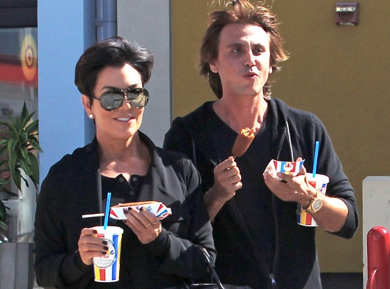Kris Jenner, Jonathan Cheban, Hot Dog