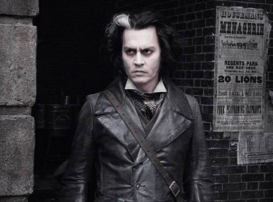 Johnny Depp, Sweeney Todd
