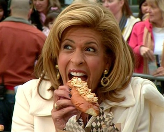 Hoda Kotb, Hot Dog