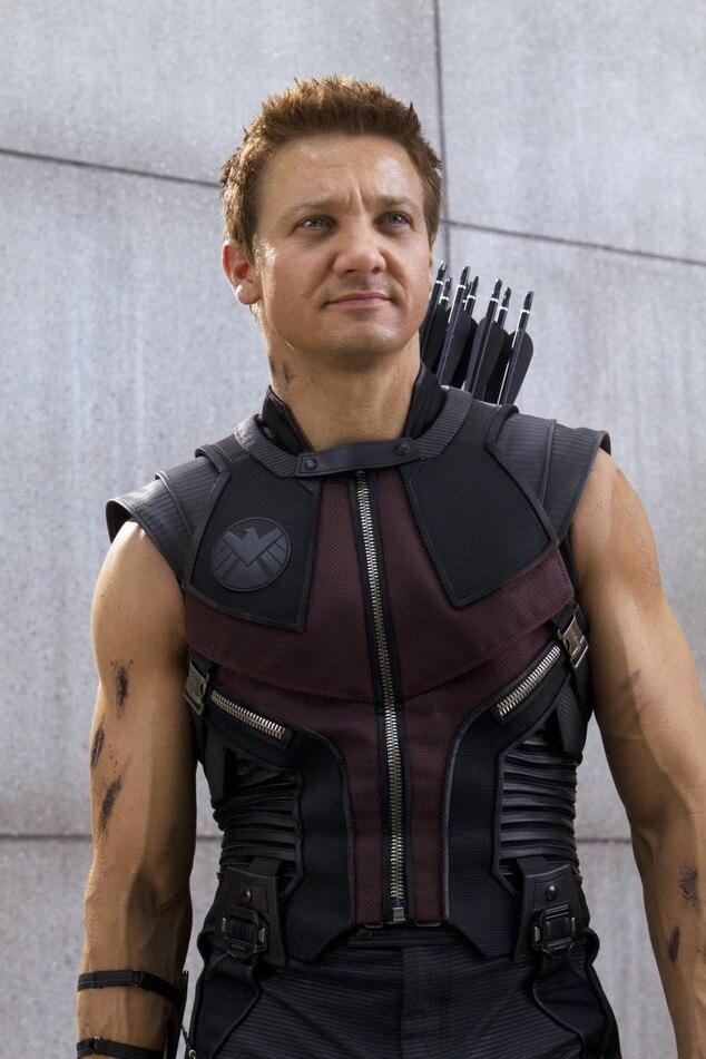 Jeremy Renner, Hawkeye, Avengers, Hottest Superheroes
