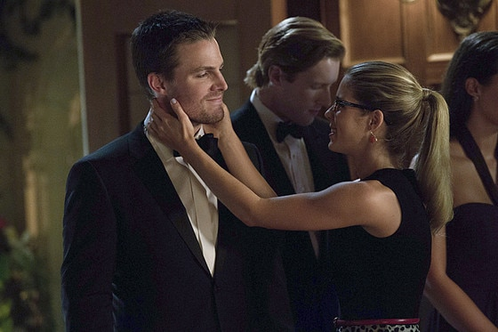 Stephen Amell, Emily Bett Rickards, Arrow