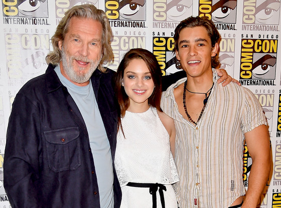 The Giver Cast, Jeff Bridges, Odeya Rush, Brenton Thwaites, Comic-Con