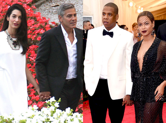 George Clooney, Amal Alamuddin, Jay-Z, Beyonce, Summer Couples
