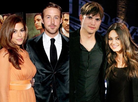 Ryan Gosling, Eva Mendes, Ashton Kutcher, Mila Kunis, Summer Couples