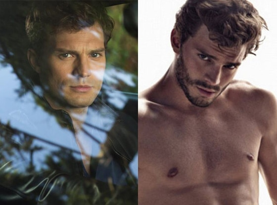 Jamie Dornan, Clean Shaven, Rugged