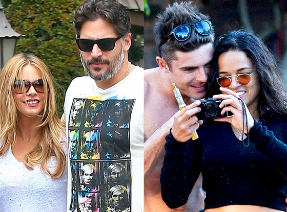 Zac Efron, Michelle Rodriguez, Sofia Vergara, Joe Manganiello, Summer Couples