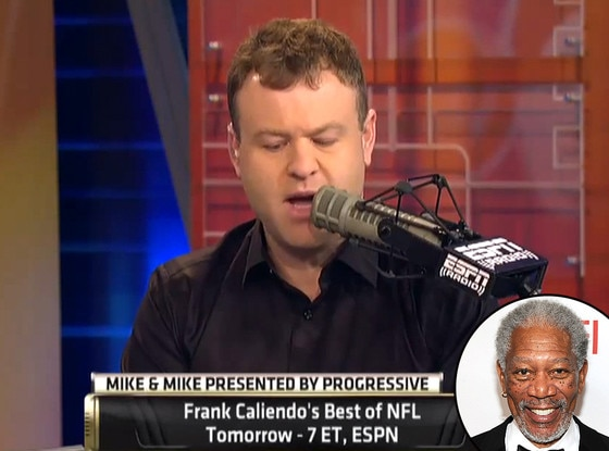 Morgan Freeman, Frank Caliendo