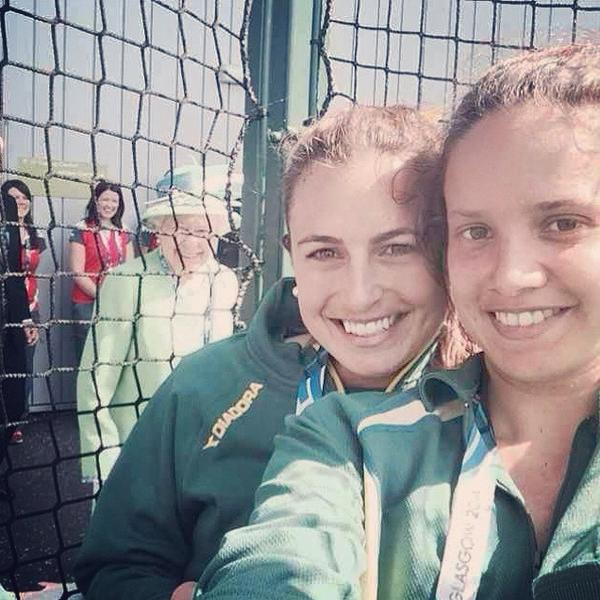 Queen Elizabeth Photobomb