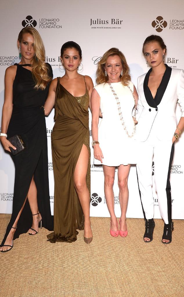 Petra Nemcova, Selena Gomez, Caroline Scheufele, Cara Delevingne, Leonardo DiCaprio Foundation