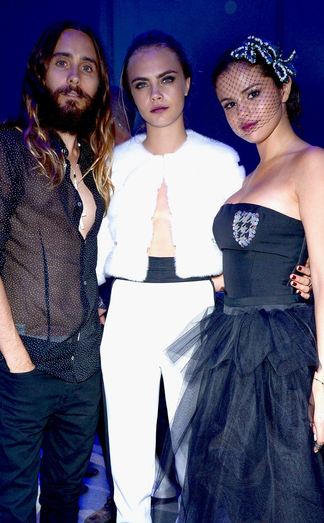 Jared Leto, Selena Gomez, Cara Delevingne, Leonardo DiCaprio Foundation