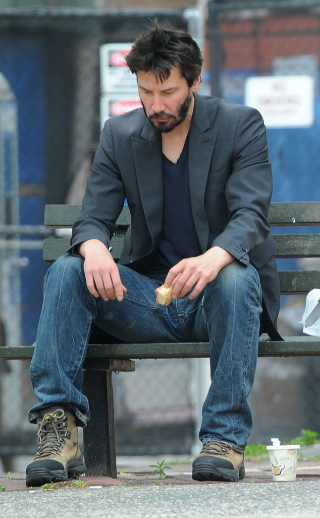 Keanu Reeves From Celebrity Sadface E News
