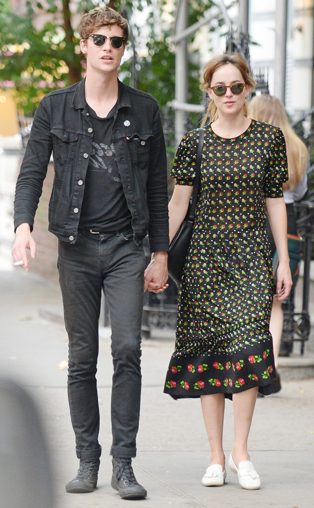 Dakota Johnson dated Matthew Hitt in 2013