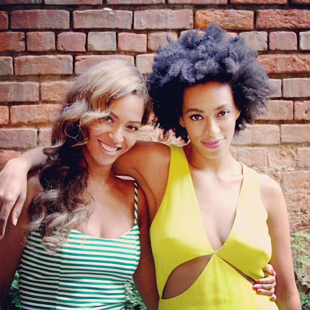 Beyonce and Solange: Sisterly Love