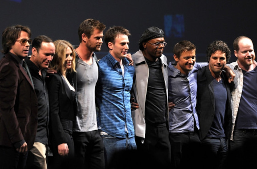 The Avengers Cast, Comic-Con