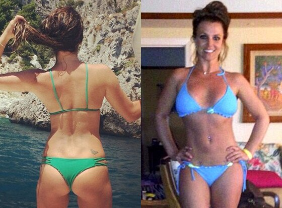Lea Michele, Britney Spears, Best of Summer Hottest Bods