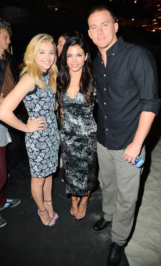 Chloe Grace Moretz, Jenna Dewan-Tatum, Channing Tatum, Comic-Con