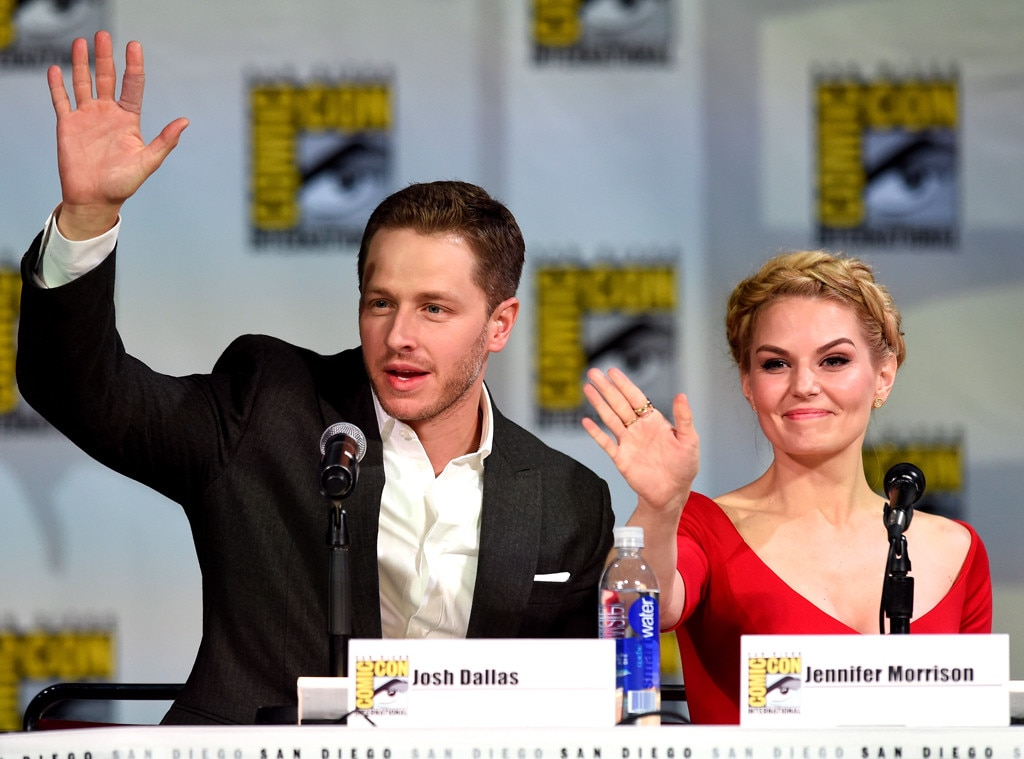 Josh Dallas, Jennifer Morrison, Comic-Con