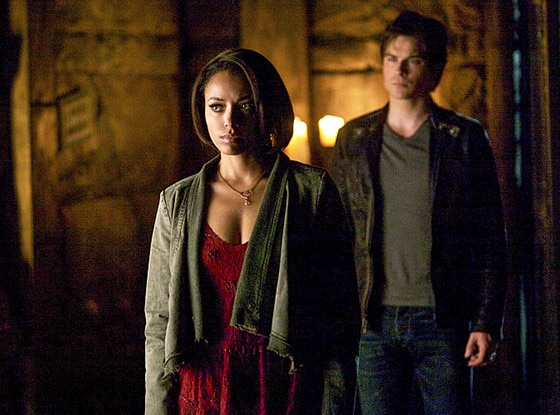 The Vampire Diaries, Kat Graham, Ian Somerhalder