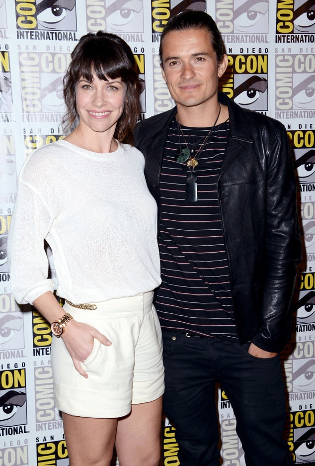 Evangeline Lilly, Orlando Bloom, Comic-Con