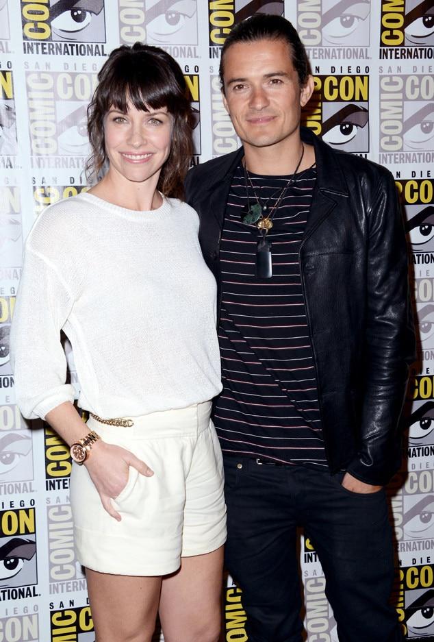 Evangeline Lilly, Orlando Bloom, Comic-Con