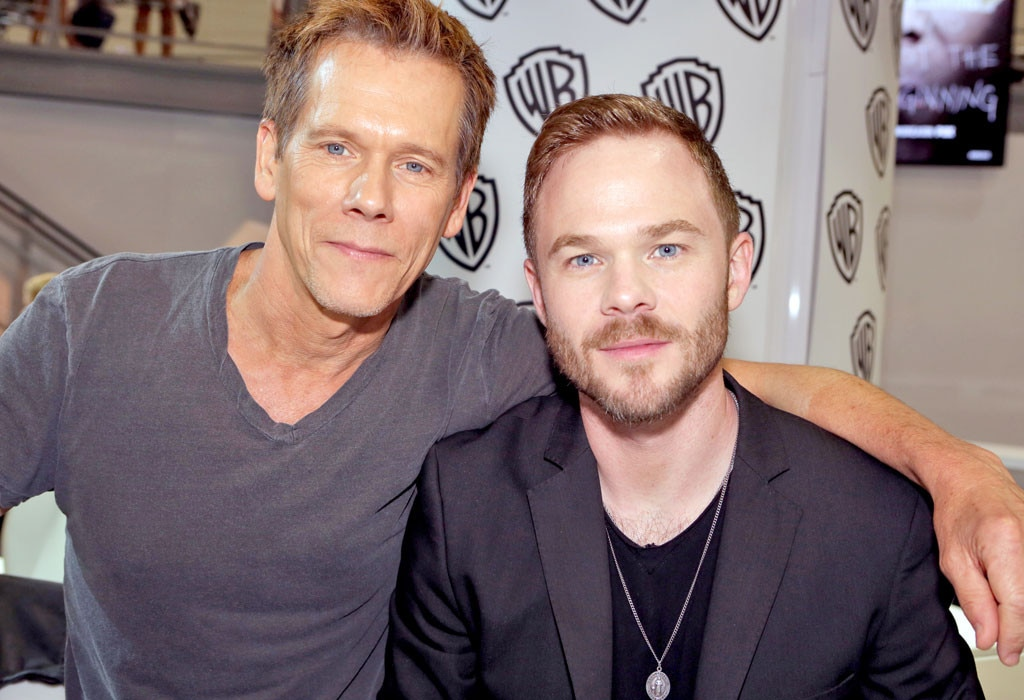 Kevin Bacon, Shawn Ashmore, Comic-Con