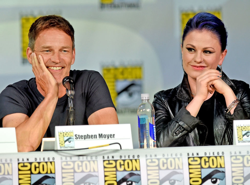 Stephen Moyer, Anna Paquin, Comic-Con
