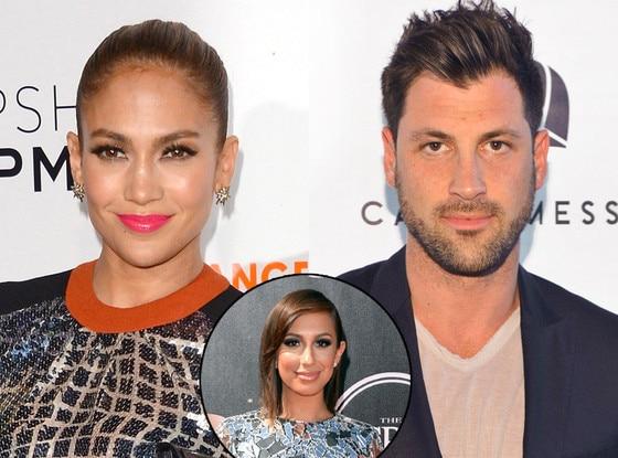 Jennifer Lopez, Maksim Chmerkovskiy, Cheryl Burke