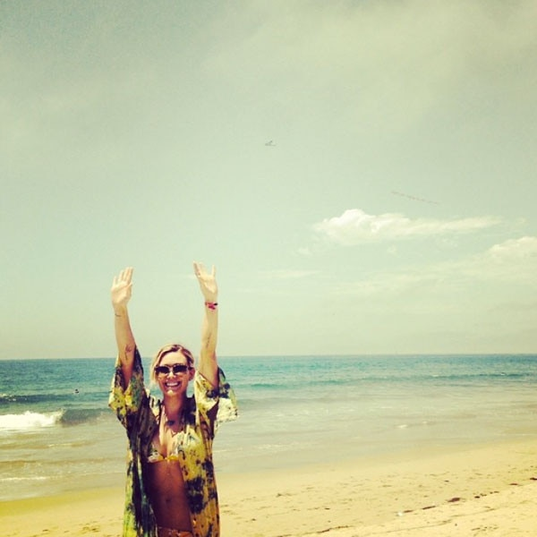 Hilary Duff, Bikini, Instagram