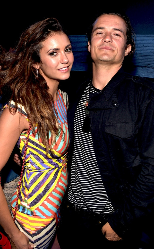 Nina Dobrev, Orlando Bloom