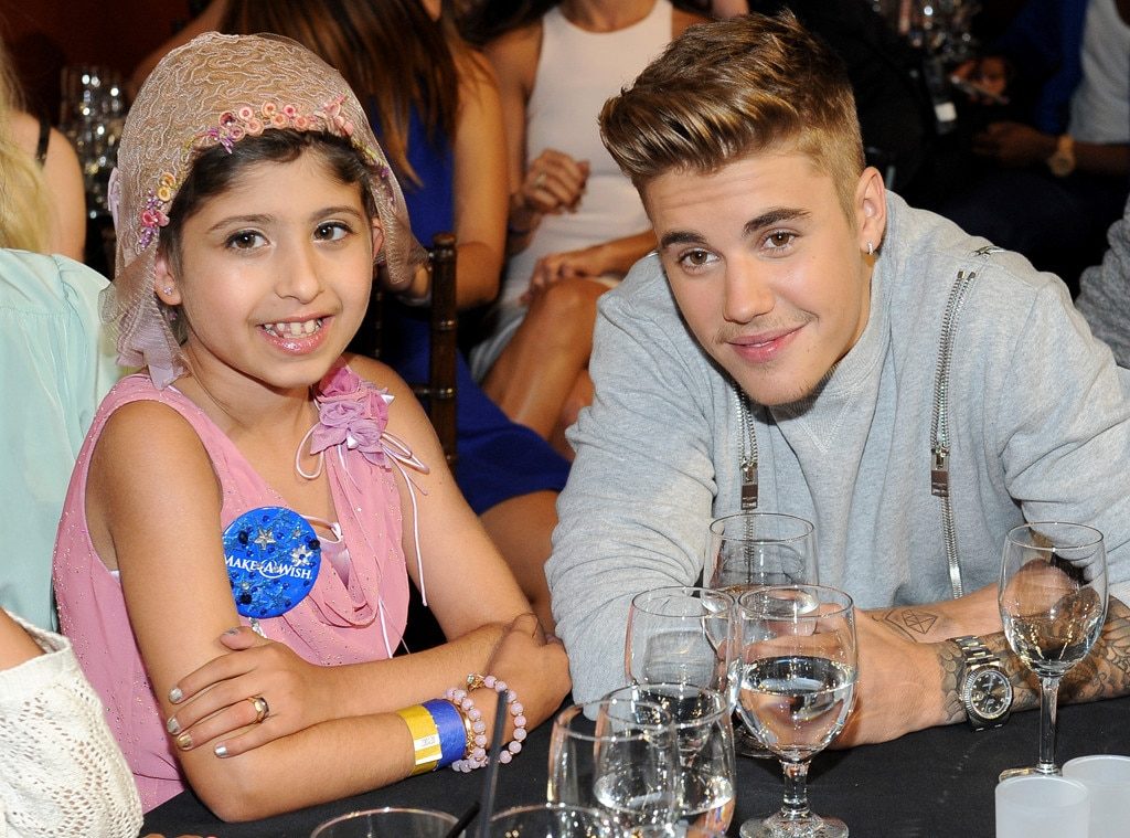 Justin Bieber, Grace Kesablak, Young Hollywood Awards