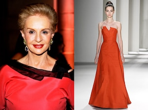Carolina Herrera, NYFW Cheat Sheet