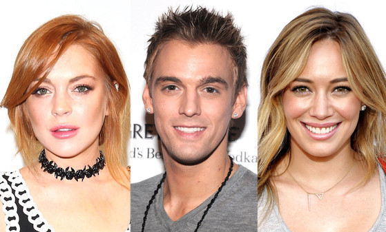 Lindsay Lohan, Aaron Carter, Hilary Duff