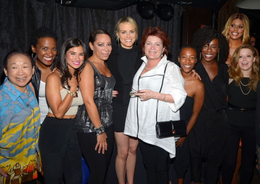 Taylor Schilling, Kate Mulgrew, Natasha Lyonne, Laverne Cox, Orange Is the New Black