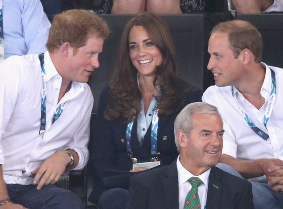 Prince Harry, Catherine, Duchess of Cambridge, Kate Middleton, Prince William