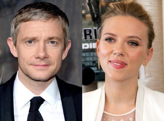 Scarlett Johansson, Martin Freeman