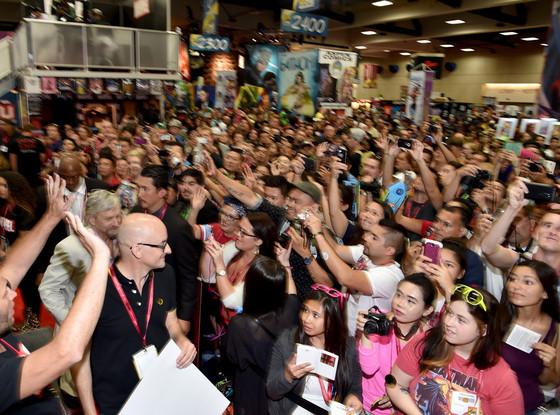 Michael Douglas, Marvel Booth, Comic-Con